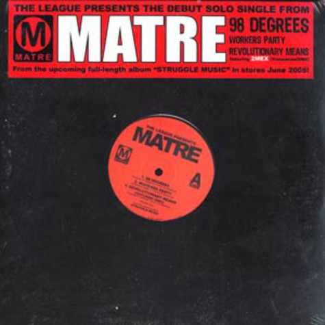 Matre of The League - 98 degrees