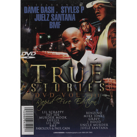 Cutmaster C - True stories volume 3