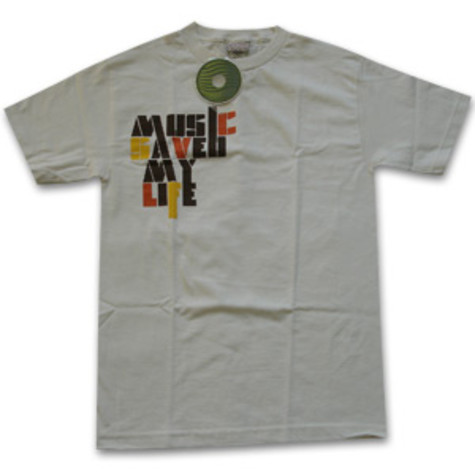 Ubiquity - Music saved my life T-Shirt
