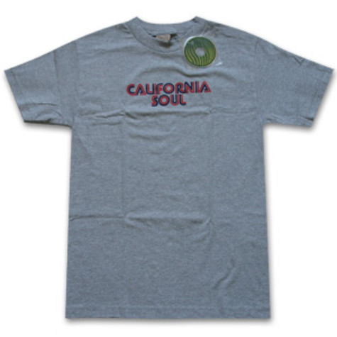 Ubiquity - California soul T-Shirt (blue/red font)
