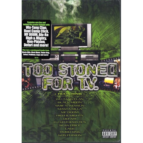 V.A. - Too stoned for TV DVD