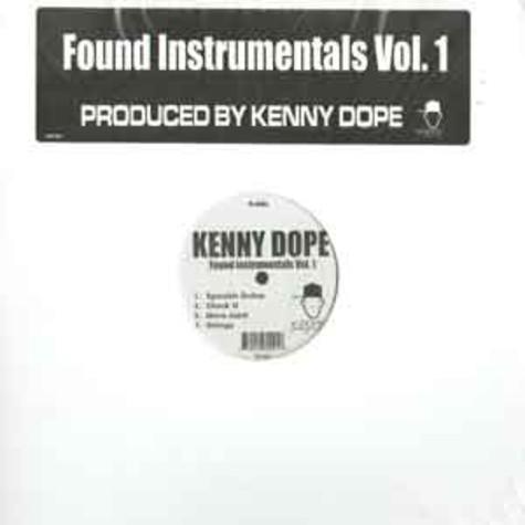 Kenny Dope - Found instrumentals volume 1