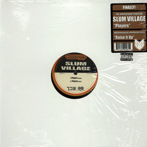 Slum Village - Players / Raise It Up