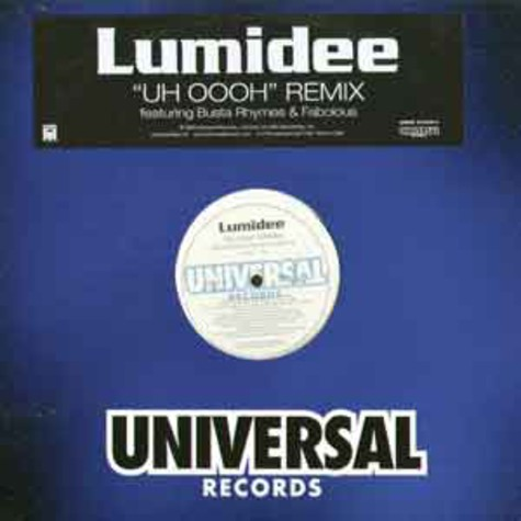 Lumidee - Never leave you (uh oooh, uh oooh) remix feat. Busta Rhymes & Fabolous