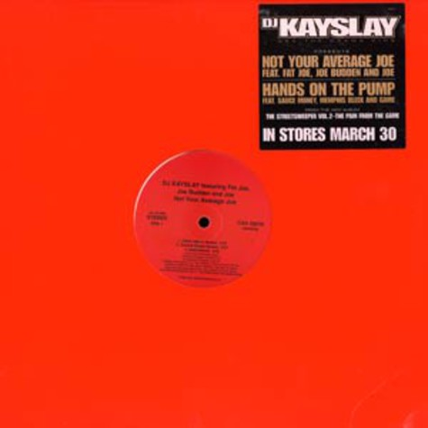 DJ Kay Slay - Not your average joe feat. Fat Joe, Joe Budden & Joe