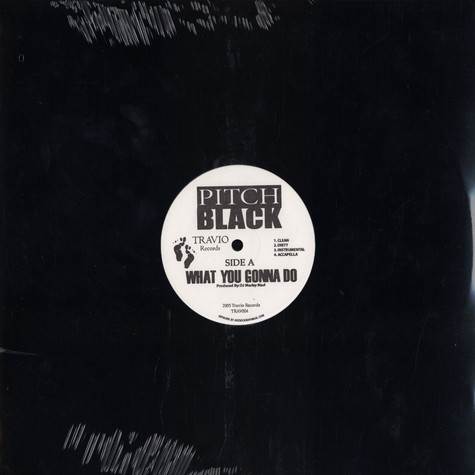 Pitch Black - What you gonna do