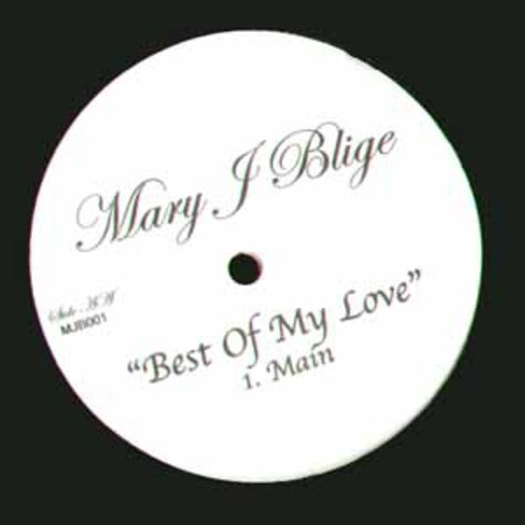 Mary J.Blige - Best of my love