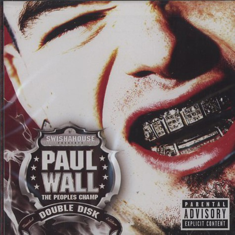 Paul Wall - The peoples champ - limited edition double disk