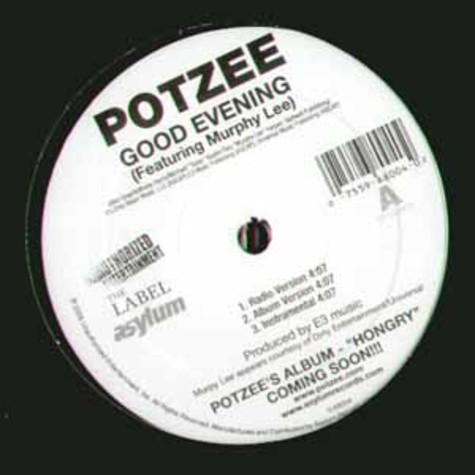 Potzee - Good evening feat. Murphy Lee