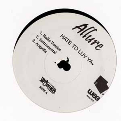 Allure - Hate to luv ya
