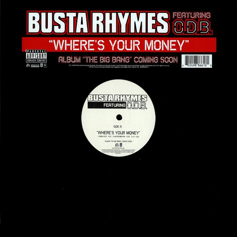 Busta Rhymes - Wheres your money feat. ODB