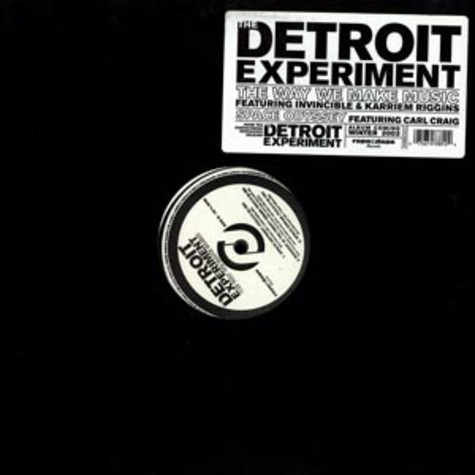 The Detroit Experiment - The way we make music feat. Invincible & Karriem Riggins