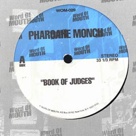 Pharoahe Monch - Book of judges