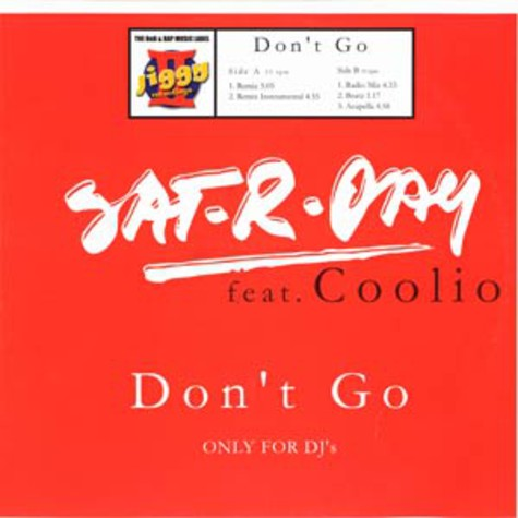 Sat-R-Day - Don't go feat. Coolio