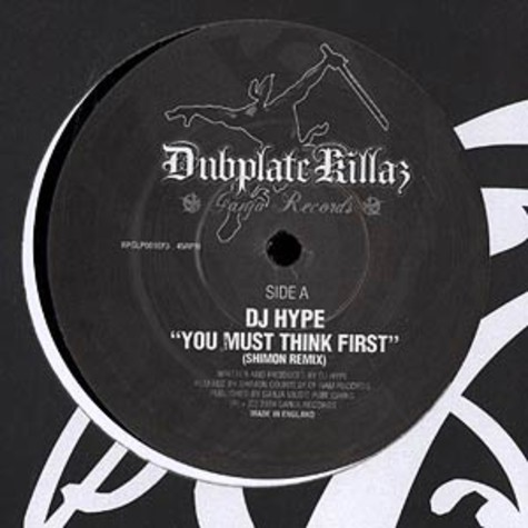 DJ Hype - You must think first remix