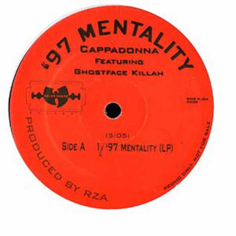 Cappadonna - 97 mentality feat. Ghostface Killah
