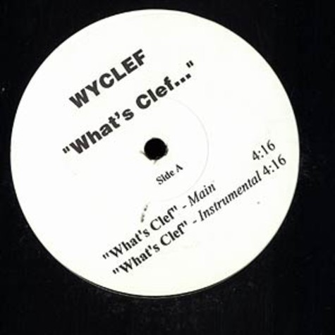 Wyclef - What's clef