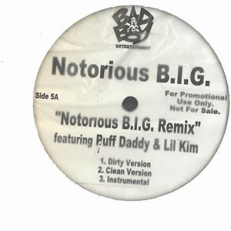 Notorious B.I.G. - Notorious B.I.G. remix feat. Lil Kim & Puff Daddy
