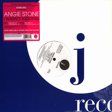 Angie Stone - I wasn't kidding