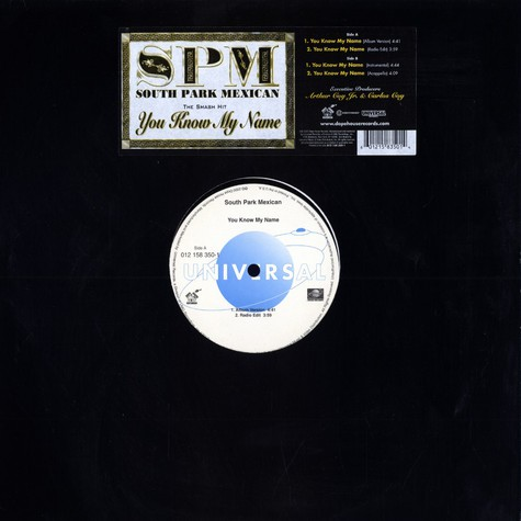 South Park Mexican - You know my name