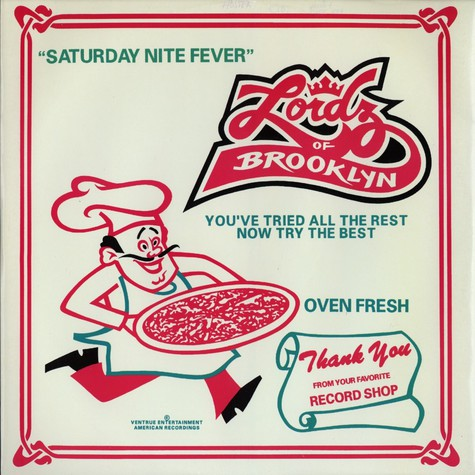 Lordz Of Brooklyn - Saturday nite fever