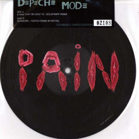 Depeche Mode - A pain that i'm used to Goldfrapp remix