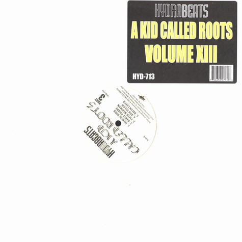 A Kid Called Roots - Hydra beats volume 13