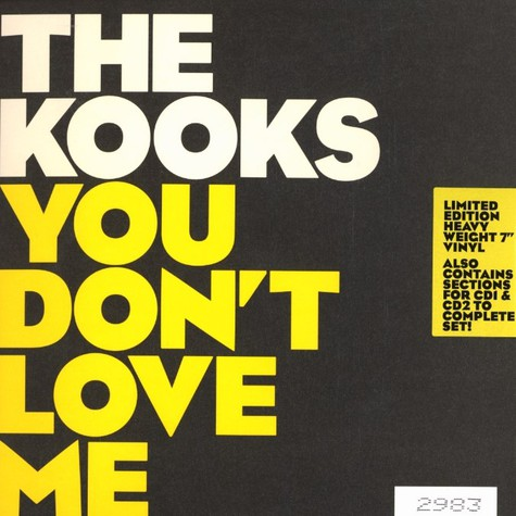 Kooks, The - You don't love me