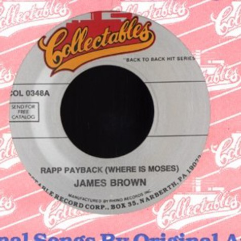 James Brown - Rapp payback (where is moses)