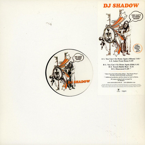 DJ Shadow - You Can't Go Home Again!