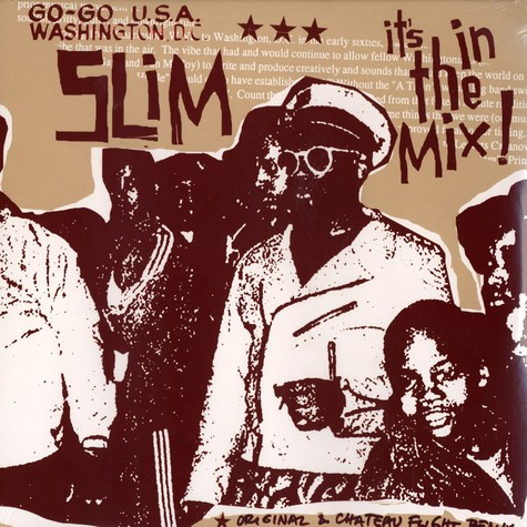 Slim - It's in the mix !