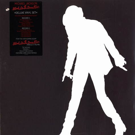 Michael Jackson - Blood on the dancefloor deluxe vinyl set