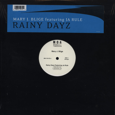 Mary J.Blige - Rainy dayz feat. Ja Rule
