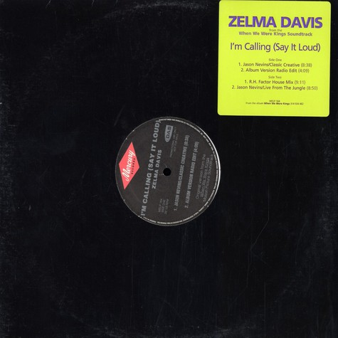Zelma Davis - I'm calling (say it loud)