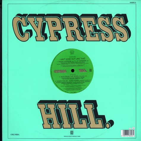 Cypress Hill - I ain't going out like that