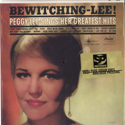 Peggy Lee - Bewitching-Lee ! - Peggy Lee sings her greatest hits
