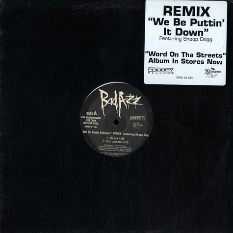 Bad Azz - We be puttin it down! remix feat. Snoop Dogg