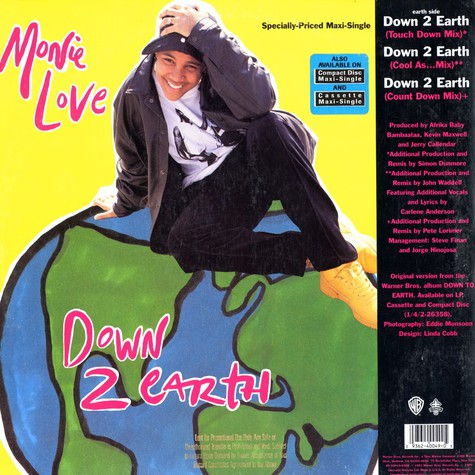 Monie Love - Down 2 earth / don't funk wid the mo
