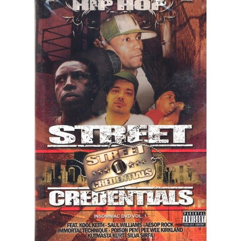 Hip Hop Street Credentials - Insomniac DVD volume 1