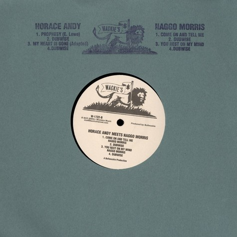 Horace Andy - Meets Naggo Morris