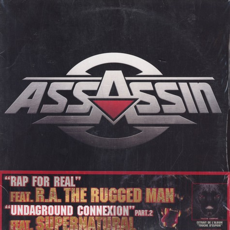 Assassin - Rap for real feat. RA The Rugged Man