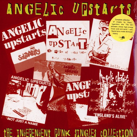 Angelic Upstairs - The independent punk singles collection