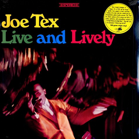 Joe Tex - Live and lively