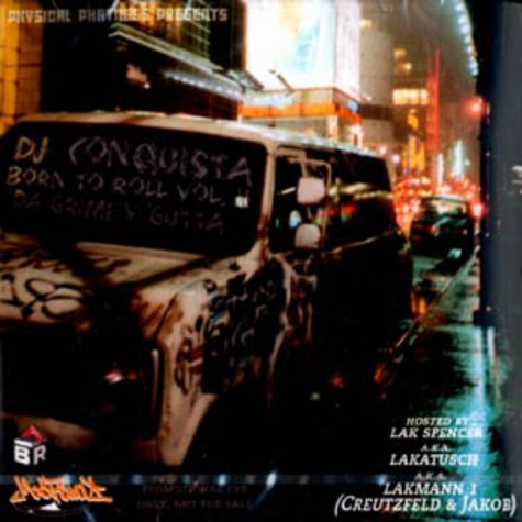 DJ Conquista - Born to roll volume 2