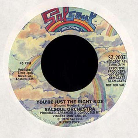 Salsoul Orchestra - You're just the right size