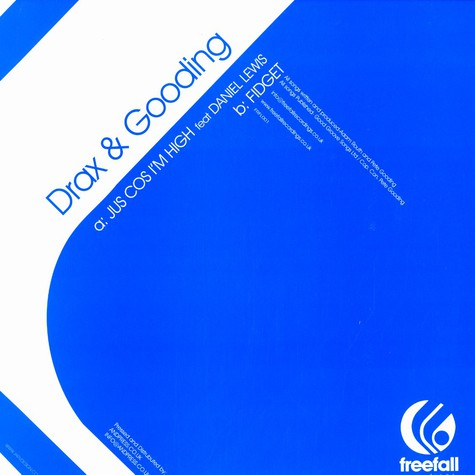 Drax & Gooding - Jus cos i'm high feat. Daniel Lewis