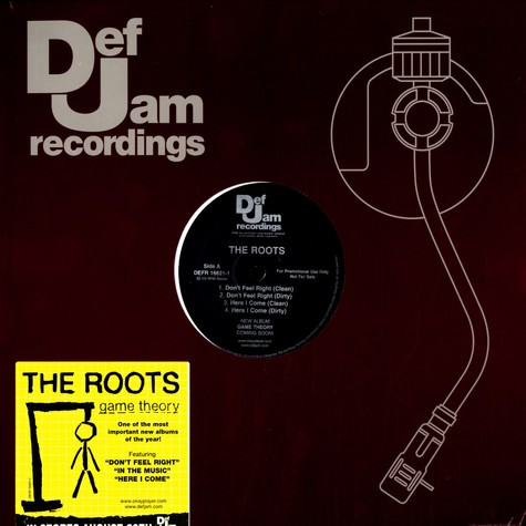 Roots, The - Game theory album sampler