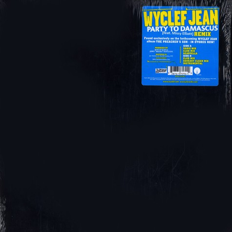 Wyclef Jean - Party to damascus feat. Missy Elliott remix