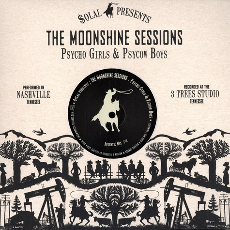 Psycho Girls & Psycow Boys - The moonshine session