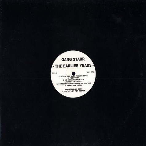 Gang Starr - The earlier years